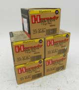 Lot of 5 Boxes of Hornady 9mm Steyr 115 grain FMJ: 125 Rounds