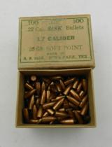 Collectible Ammo: Lot of 4 Boxes of Marlin/Sisk/Remington-UMC Bullets - 5 of 11