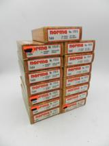 Lot of 15 Boxes of Norma 7x64mm 150 gr Soft Point Semi Pointed: 300 Rounds