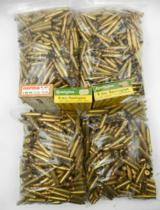 Lot of 7 Boxes/Bags of 6mm Remington Primed/Unprimed Brass: Approx. 1000 Pieces