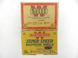 Collectible Ammo: Lot of 6 Boxes of Winchester Super-Speed 20 ga. Shotgun Shells: 150 Shells - 2 of 11