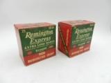 Collectible Ammo: Lot of 10 Boxes of Remington Express 20 ga. Shotgun Shells: 248 Shells - 6 of 12