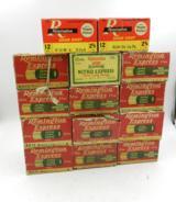 Collectible Ammo: Lot of 14 Boxes of Remington 12 ga. Shotgun Shells: Approx. 330 Shells