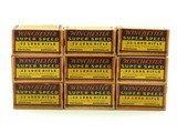 Collectible Ammo: Lot of 9 Boxes of Winchester Super Speed .22 Long Rifle Staynless Kopperklad - 2 of 6