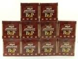 "lot of 10 boxes of baschieri & pellagri high pheasant 2-1/2"" 12ga shotgun shells"
