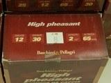 Lot of 10 Boxes of Baschieri & Pellagri High Pheasant 2-1/2
