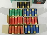 Lot of 13 Boxes of Gamebore, Eley, and Westley Richards 2-1/2