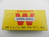 Collectible Ammo: Winchester Super-Speed Silvertip .348 Winchester 200 gr Expanding, Catalog No. W3482