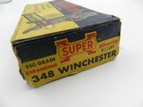 Collectible Ammo: Winchester Super-Speed Silvertip .348 Winchester 250 gr., Bear Box, Win No. K1715C - 3 of 10