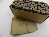 Collectible Ammo: Winchester EZXS Precision .22 Long Rifle Lesmok Match Cartridges, Catalog No. K2238R. - 9 of 12