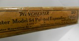 Collectible Ammo: Winchester Model 54 Pointed .270 Win 130 grain Pointed Expanding Catalog No. K2702C - 2 of 9