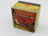 Collectible Ammo: Winchester Leader 16 Gauge 1933-1943 Vintage - 7 of 13