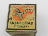 Collectible Ammo: 28 Gauge Winchester Ranger Skeet Load 3/4-Ounce, 9 Shot (#6326) - 2 of 11