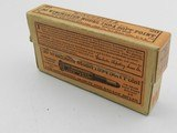 ?Collectible Ammo: .30 Winchester Model 1894 Soft Point 2-Piece Box, 1915 Orange Label (#6504)
