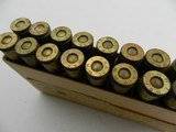"Collectible Ammo: Winchester 7 m/m Full Patch Cartridges for Mauser and ""Colt and other Automatic Machine Guns""