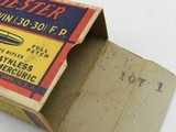 Collectible Ammo: Winchester Super Speed .30 Win (.30-30) 170 Gr Full Patch, 1935 Style Box, Catalog No. K3001C (6515) - 9 of 15