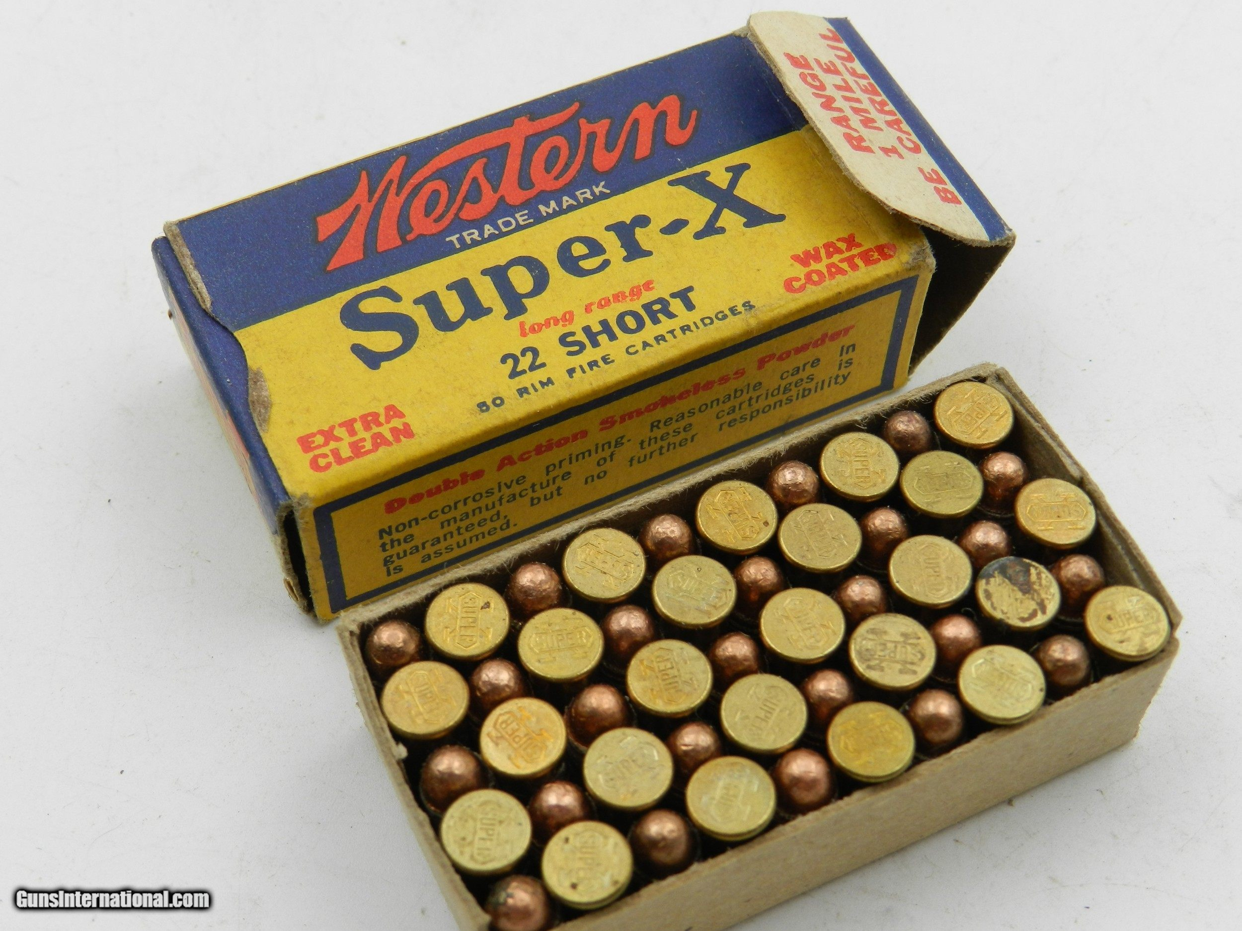 ?Collectible Ammo: Western Super-X and Winchester Super-Speed, Leader .22 Shot, Long, LR, W.R.F ...