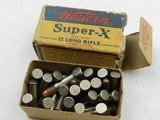 ?Collectible Ammo: Western Super-X and Winchester Super-Speed, Leader .22 Shot, Long, LR, W.R.F. (#6563) - 13 of 19