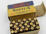 ?Collectible Ammo: Western Super-X and Winchester Super-Speed, Leader .22 Shot, Long, LR, W.R.F. (#6563) - 12 of 19
