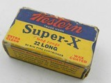 ?Collectible Ammo: Western Super-X and Winchester Super-Speed, Leader .22 Shot, Long, LR, W.R.F. (#6563) - 10 of 19