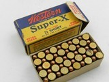 ?Collectible Ammo: Western Super-X and Winchester Super-Speed, Leader .22 Shot, Long, LR, W.R.F. (#6563) - 6 of 19