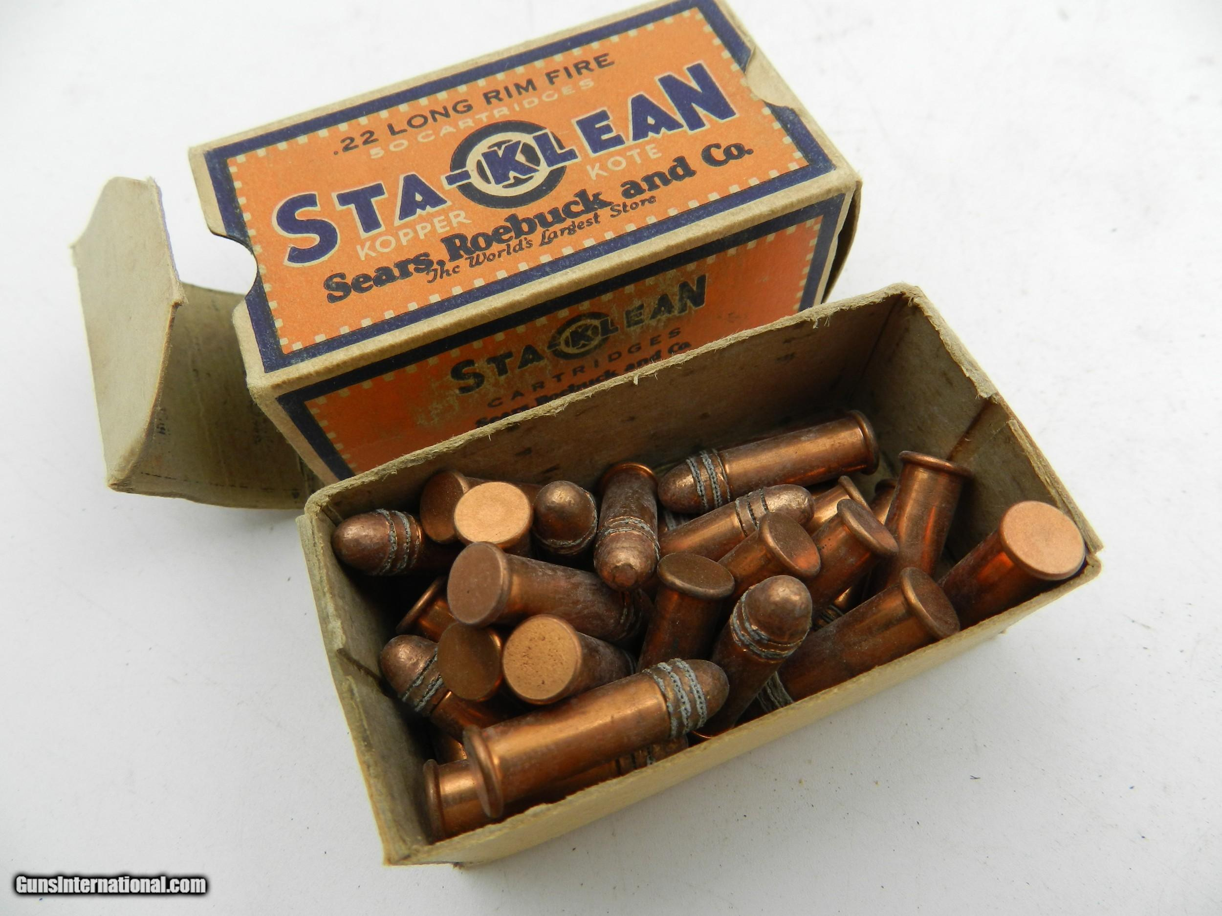 Collectible Ammo: Vintage Sears Sta-Klean, Ted Williams, Kassnar