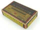 Collectible Ammo: Winchester .35 Winchester for the Model 1895, 250 Grain Soft Point Catalog No. K3502C