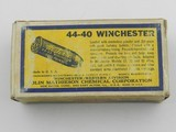 Collectible Ammo: Western .44-40 Winchester 200 grain Soft Point, Bullseye Box, Catalog No. 4440 (#6586) - 5 of 10