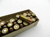 Collectible Ammo: Remington Kleanbore .32 Auto (7.65 mm), 71 grain Metal Cased Bullet, Dog Bone Box, Catalog No. R151 (#6590) - 5 of 11