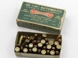Collectible Ammo: Remington Kleanbore .32 Auto (7.65 mm), 71 grain Metal Cased Bullet, Dog Bone Box, Catalog No. R151 (#6590) - 2 of 11