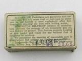Collectible Ammo: Remington Kleanbore .32 Auto (7.65 mm), 71 grain Metal Cased Bullet, Dog Bone Box, Catalog No. R151 (#6590) - 7 of 11