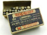 Collectible Ammo: Vintage Western Bullseye Box and Winchester 1932 Box, Rem UMC .25 Auto (#6591) - 3 of 18