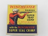 "Collectible Ammo: Two ""Red Sweater"" Boxes of Winchester Ranger Super Trap Loads, 12 ga, Red Dot (#6600) - 4 of 20"