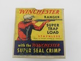 "Collectible Ammo: Two ""Red Sweater"" Boxes of Winchester Ranger Super Trap Loads, 12 ga, Red Dot (#6600) - 15 of 20"