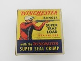 "Collectible Ammo: Two ""Red Sweater"" Boxes of Winchester Ranger Super Trap Loads, 12 ga, Red Dot (#6600) - 16 of 20"