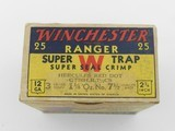 "Collectible Ammo: Two ""Red Sweater"" Boxes of Winchester Ranger Super Trap Loads, 12 ga, Red Dot (#6600) - 7 of 20"