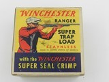 "Collectible Ammo: Two ""Red Sweater"" Boxes of Winchester Ranger Super Trap Loads, 12 ga, Red Dot (#6600) - 5 of 20"