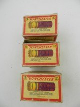 Collectible Ammo: Three Vintage Boxes of Winchester Super Speed 12 Gauge 6 Shot 1-1/4 oz R466 (#6604) - 3 of 9