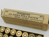 Collectible Ammo: Winchester .30-40 (.30 Army), .25-35, UMC 7mm Mauser, Western .410 Super-X No. 4 (#6606) - 8 of 20