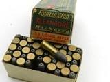 Collectible Ammo: Six Boxes Remington Kleanbore .22 LR: Police Targetmaster, Pistol Match, Hi-Speed, Standard Velocity (6607) - 4 of 12