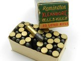 Collectible Ammo: Six Boxes Remington Kleanbore .22 LR: Police Targetmaster, Pistol Match, Hi-Speed, Standard Velocity (6607) - 2 of 12