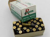 Collectible Ammo: Six Boxes Remington Kleanbore .22 LR: Police Targetmaster, Pistol Match, Hi-Speed, Standard Velocity (6607) - 10 of 12