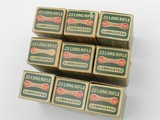 Collectible Ammo: Nine Boxes of Remington Kleanbore R17L .22 LR in the Dog Bone Box, Brass and Copper Cased Types (6608) - 4 of 8