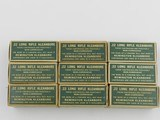 Collectible Ammo: Nine Boxes of Remington Kleanbore R17L .22 LR in the Dog Bone Box, Brass and Copper Cased Types (6608) - 5 of 8