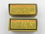 Collectible Ammo: Eight Boxes of Western .22 Long, LR, Clay Target Shot, Super-X, Xpert, Super-Match, Bullseye Box (#6609) - 5 of 20