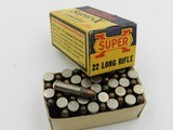 Collectible Ammo: Eight Boxes of Western .22 Long, LR, Clay Target Shot, Super-X, Xpert, Super-Match, Bullseye Box (#6609) - 7 of 20