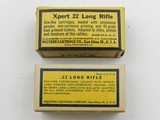 Collectible Ammo: Eight Boxes of Western .22 Long, LR, Clay Target Shot, Super-X, Xpert, Super-Match, Bullseye Box (#6609) - 16 of 20