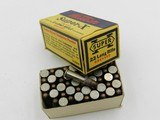 Collectible Ammo: Eight Boxes of Western .22 Long, LR, Clay Target Shot, Super-X, Xpert, Super-Match, Bullseye Box (#6609) - 3 of 20