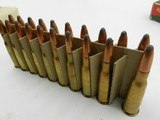 Collectible Ammo: 65 Rounds of Remington UMC 8 mm Lebel 8 x 50R 170 gr Soft Point Bullet Lebel - Berthier - Gras (#6685) - 8 of 11