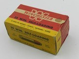Collectible Ammo: Winchester .35 Winchester Self-Loading, 180 grain Soft Point, WSL, Catalog No. K3521C - 1 of 12